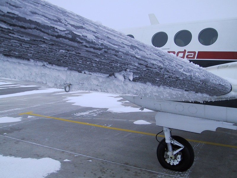 givre avion