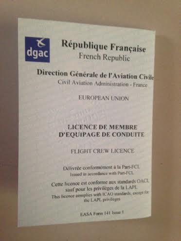 licence EASA